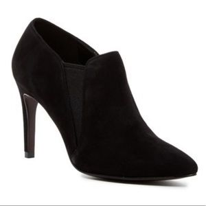 Cole Haan Allaire Ankle Bootie Black Suede 6 B